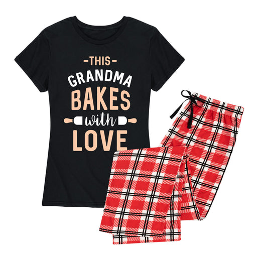 Grandma Bakes With Love - Women's Pajama Set
