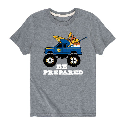Camping Truck - Youth Short Sleeve T-Shirt