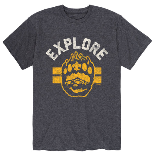 Explore - Men's Short Sleeve T-Shirt