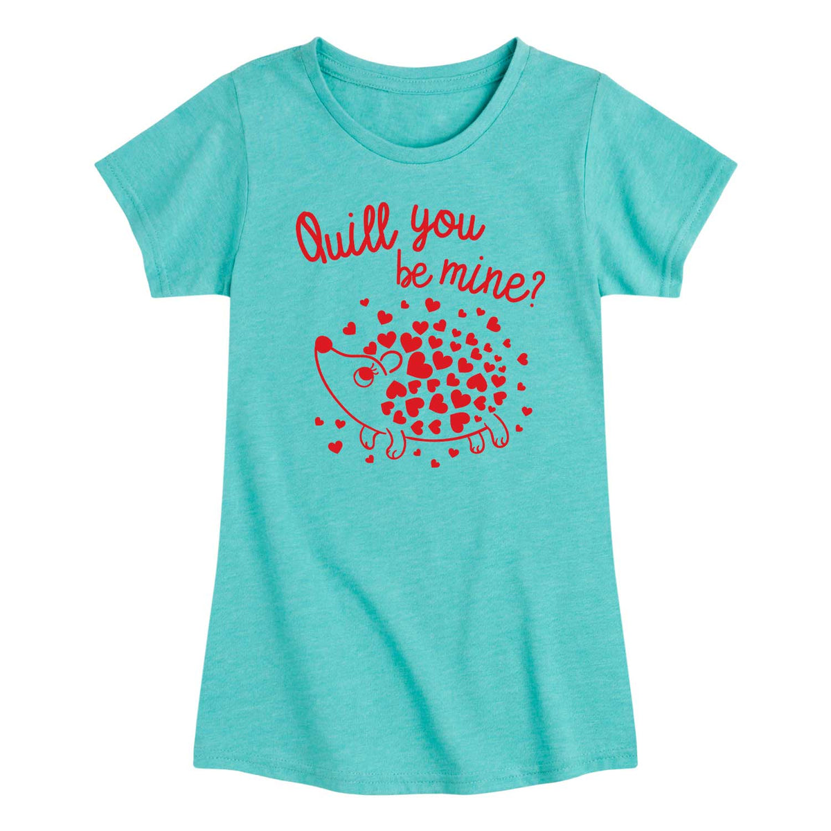 Quill You Be Mine - Youth & Toddler Girls Short Sleeve T-Shirt