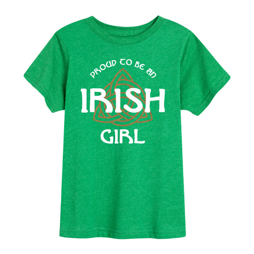 Proud to be an Irish Girl - Youth Short Sleeve T-Shirt