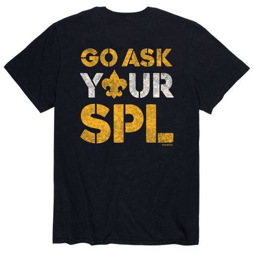 Go Ask Spl - Men's Short Sleeve T-Shirt