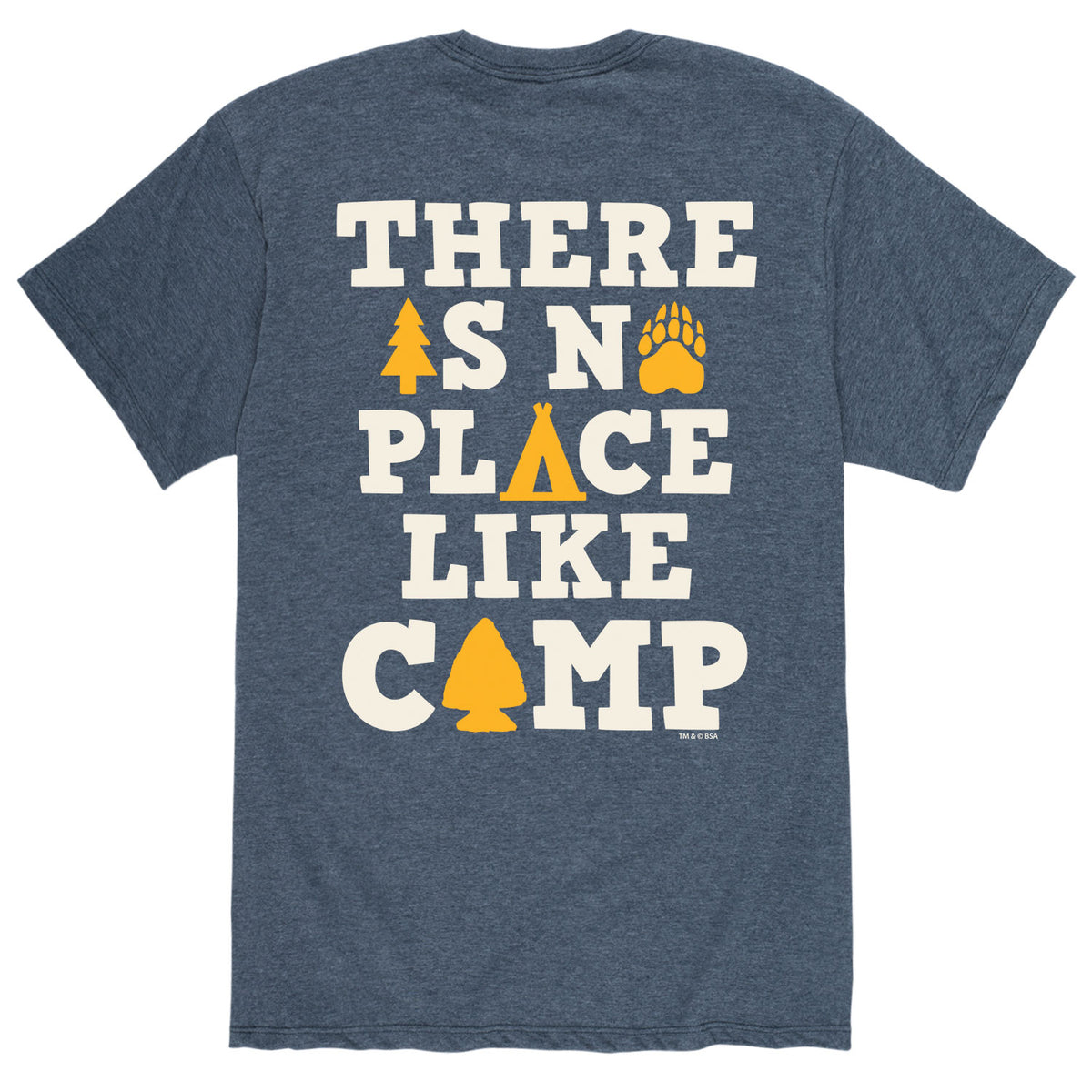 No Place Like Camp - Men's Short Sleeve T-Shirt