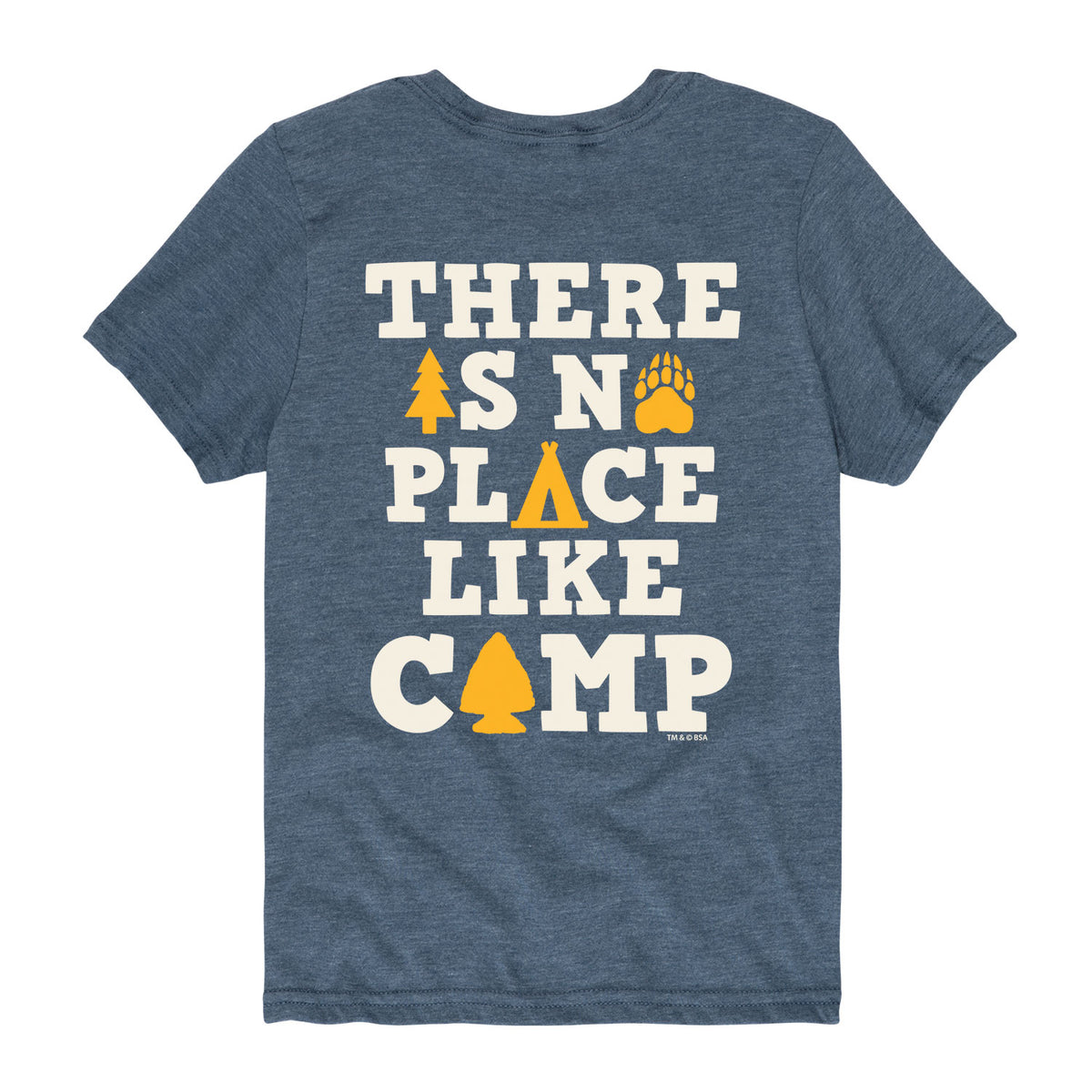 No Place Like Camp - Youth Short Sleeve T-Shirt