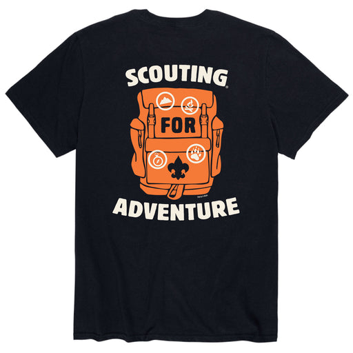 Scouting Adventure - Men's Short Sleeve T-Shirt