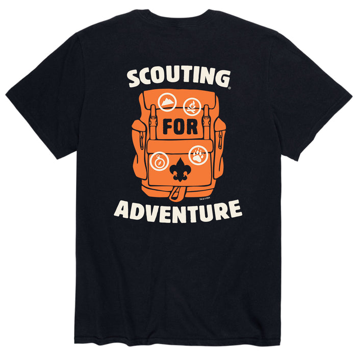 BSA Scouting Adventure - Men's Short Sleeve T-Shirt