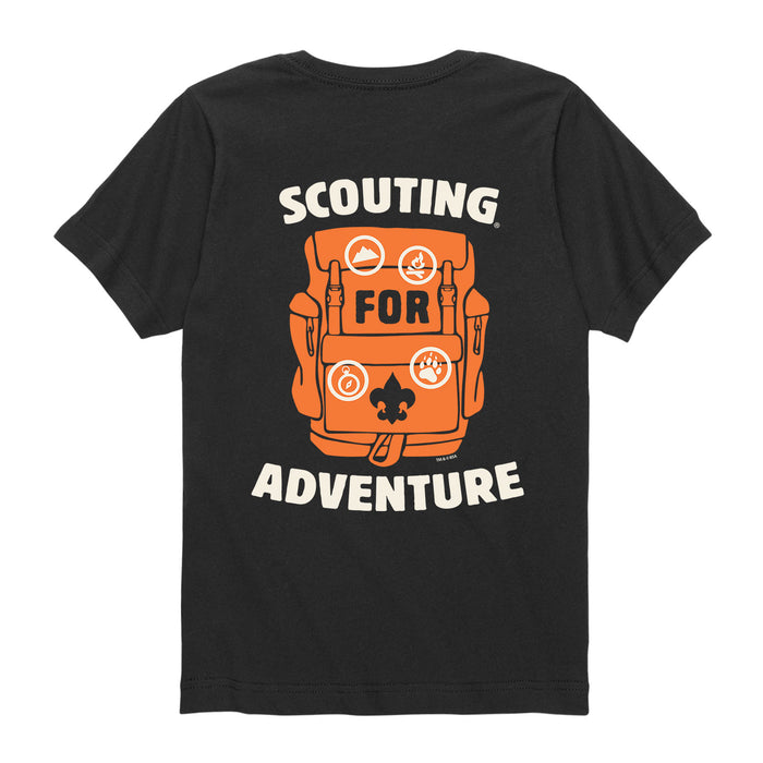 BSA Scouting Adventure -Kids Short Sleeve Tee