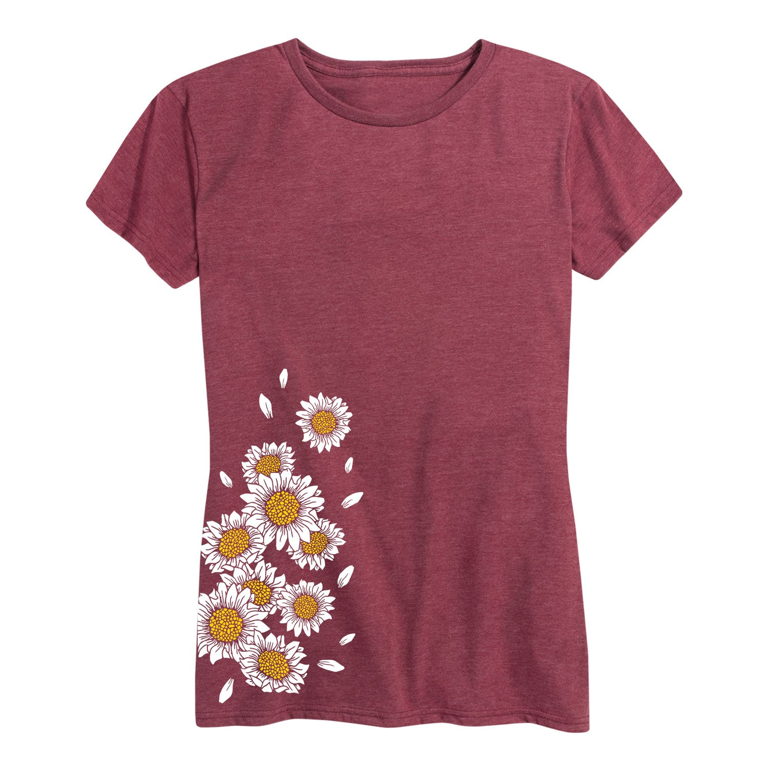 Daisies Side Hit - Women's Short Sleeve T-Shirt