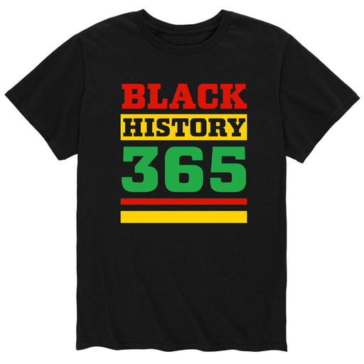Black History 365 - Men's Short Sleeve T-Shirt