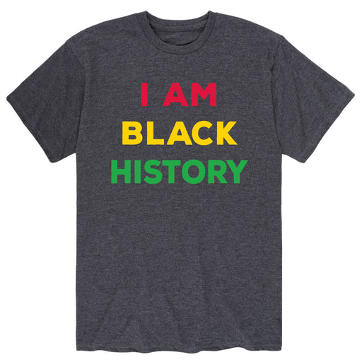 I am Black History - Men's Short Sleeve T-Shirt