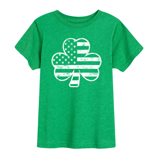 Shamrock Flag - Youth Short Sleeve T-Shirt