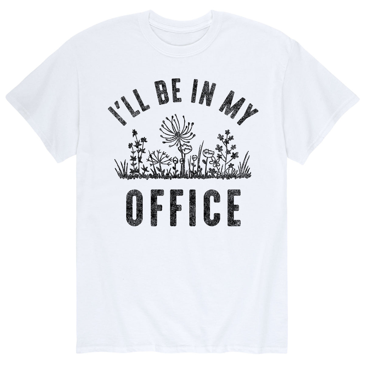 I'll Be In My Office - Men's Short Sleeve T-Shirt