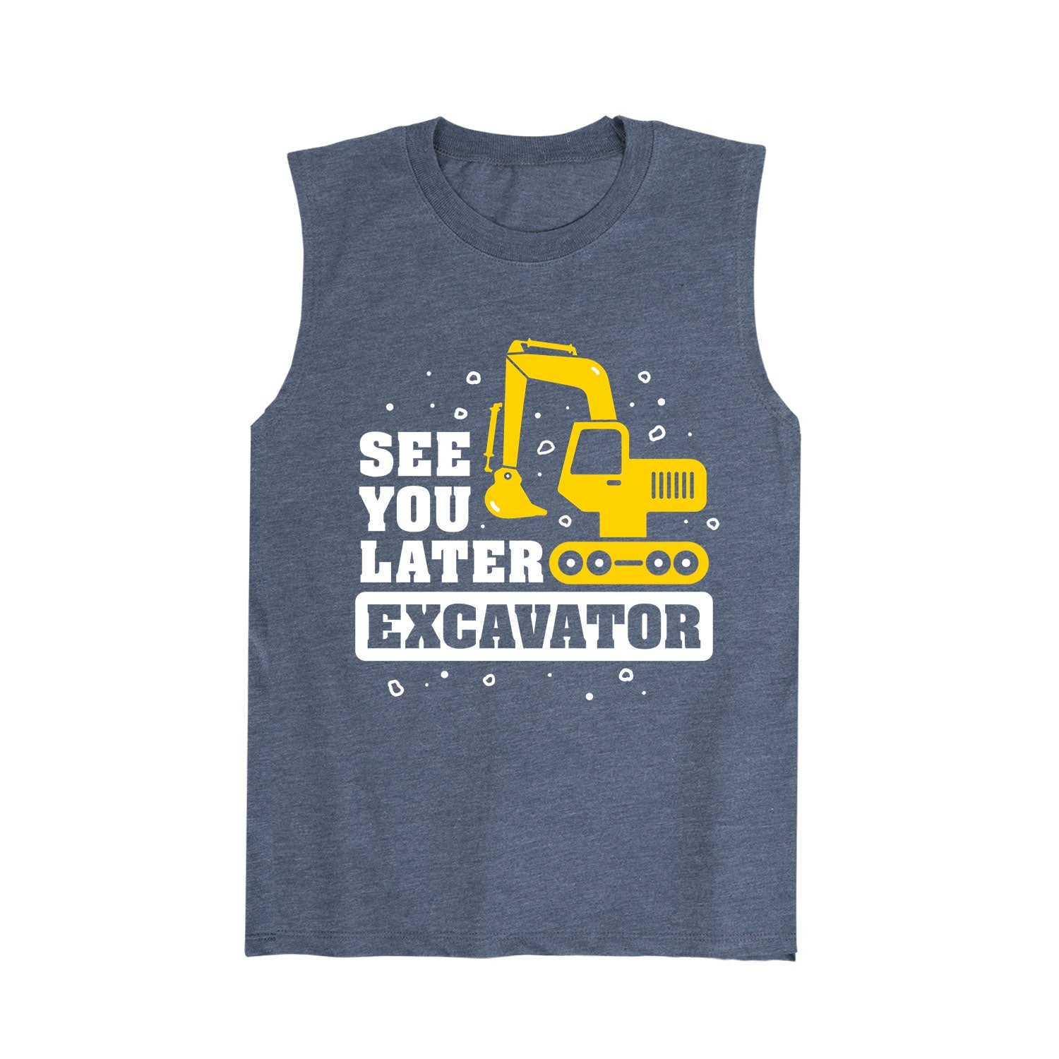 See You Later Excavator - Youth Tank Top