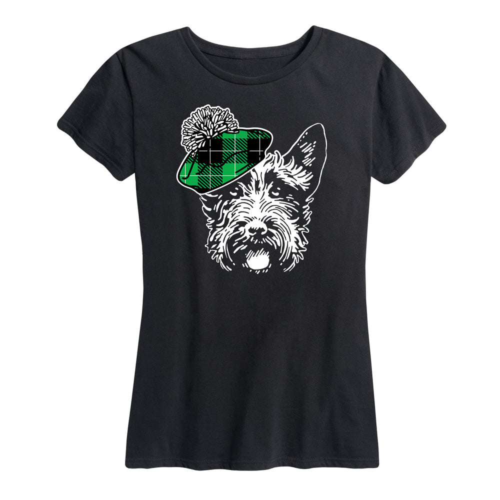 Plaid Dog - Women's Short Sleeve T-Shirt