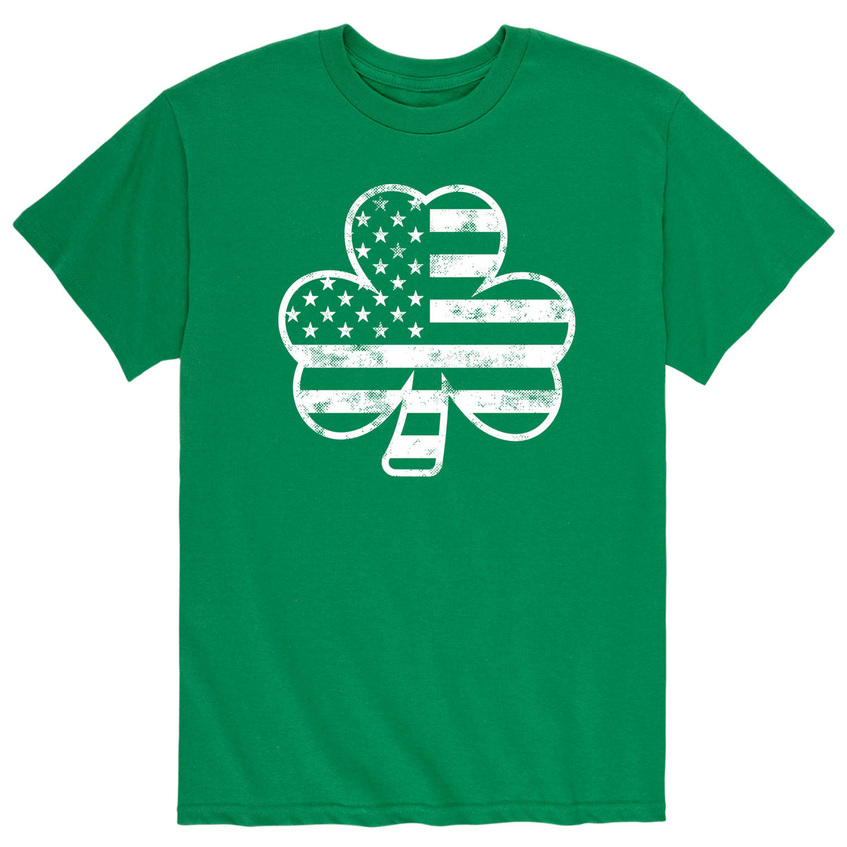 Shamrock Flag - Men's Short Sleeve T-Shirt