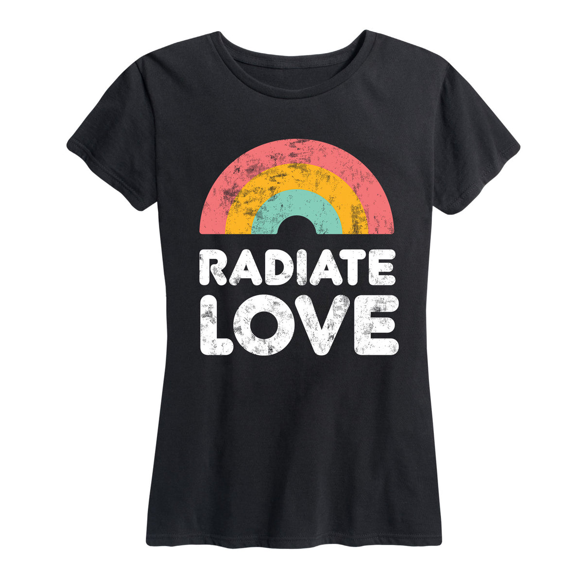 Radiate Love - Women's Short Sleeve T-Shirt