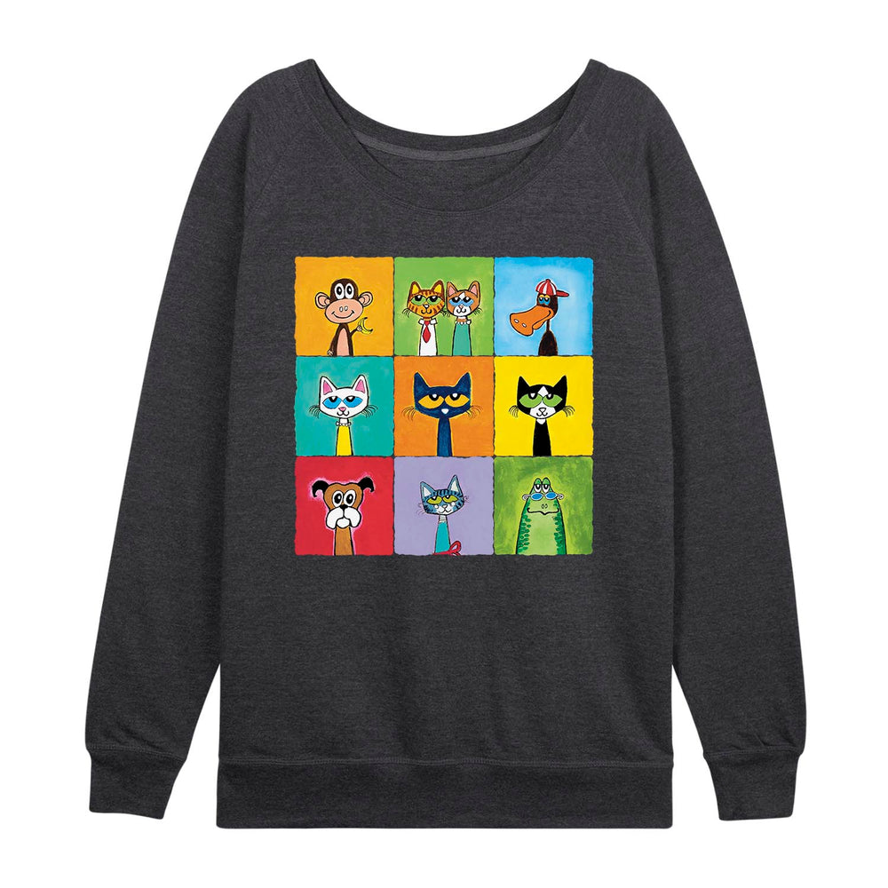 Pete the Cat© Women's Plus Size Slouchy