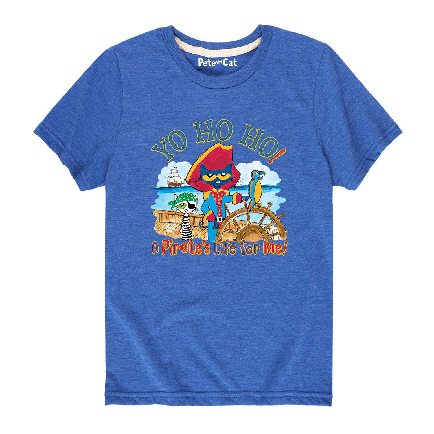 Pirate Yo Ho Ho - Youth & Toddler Short Sleeve T-Shirt