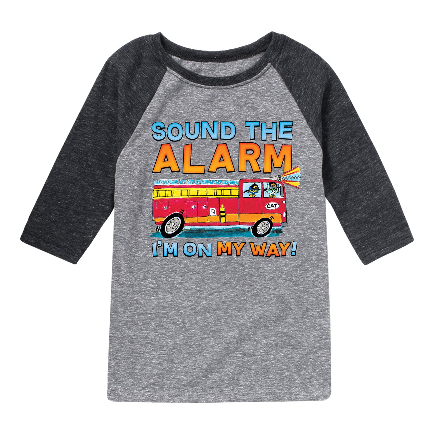 Pete The Cat Sound The Alarm - Toddler Raglan