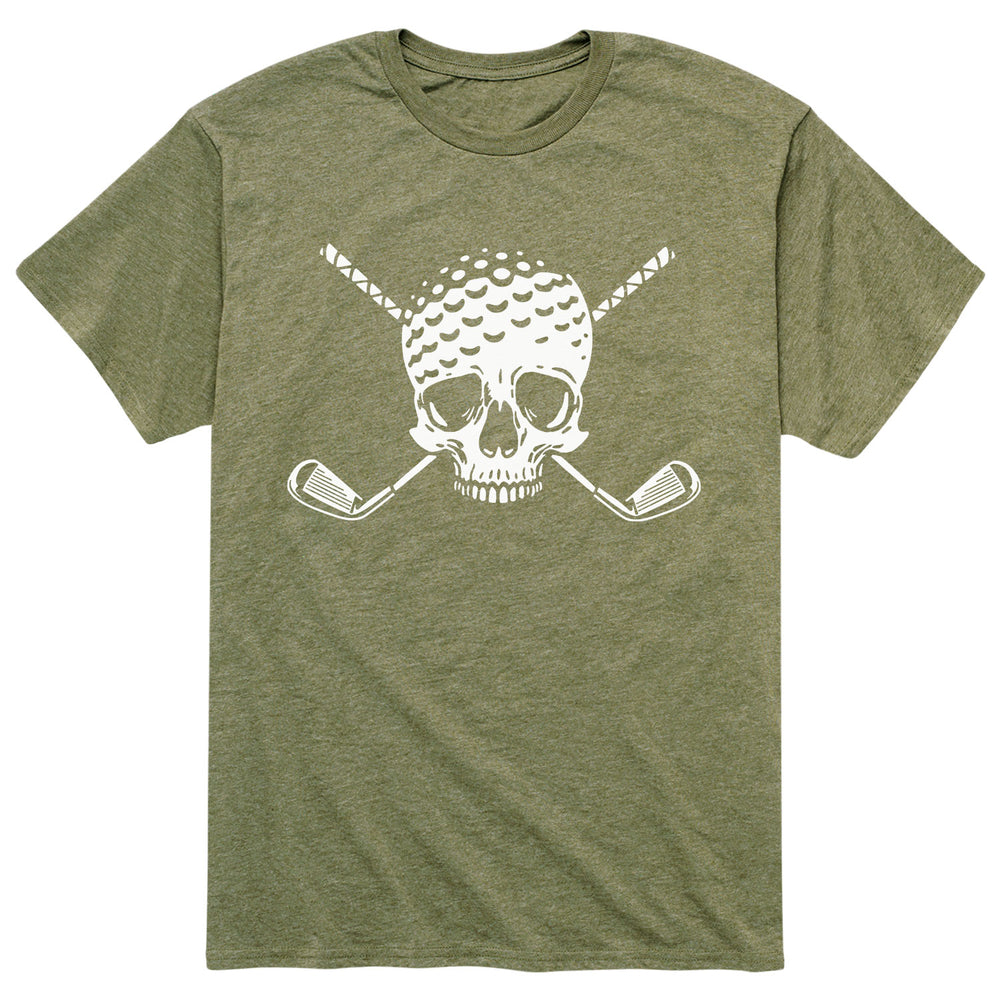 Golf Ball Skull - Men's Short Sleeve T-Shirt