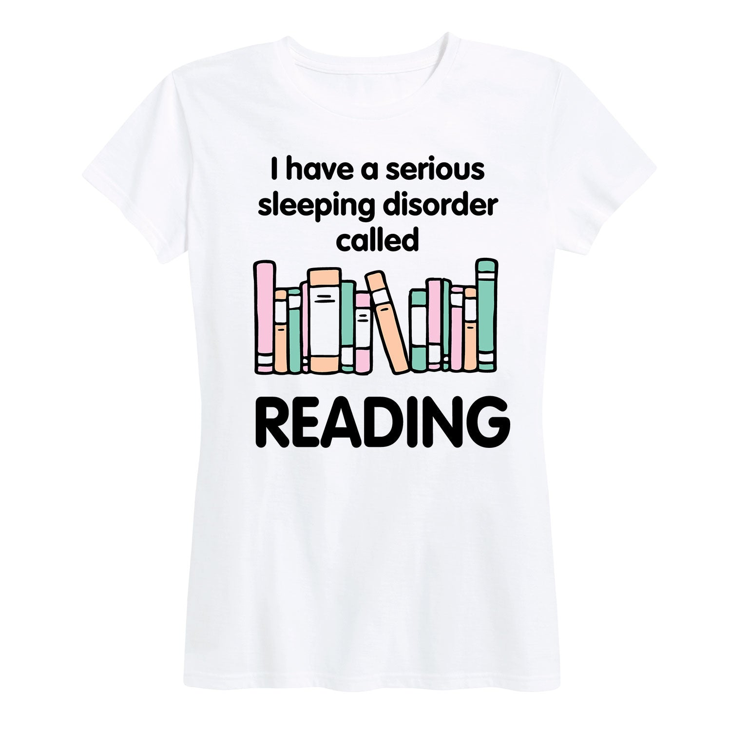 Reading Sleeping Disorder - Women's Short Sleeve T-Shirt