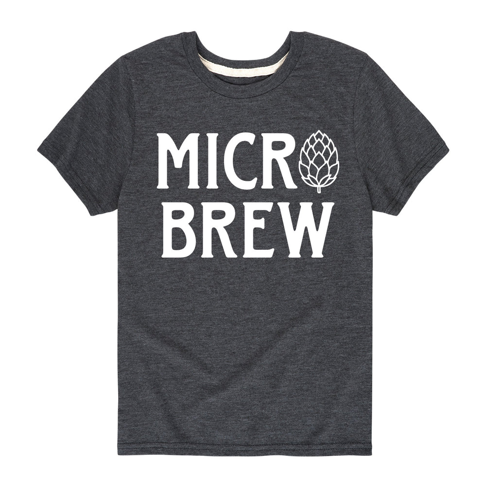 Hops Micro Brew - Youth & Toddler Short Sleeve T-Shirt