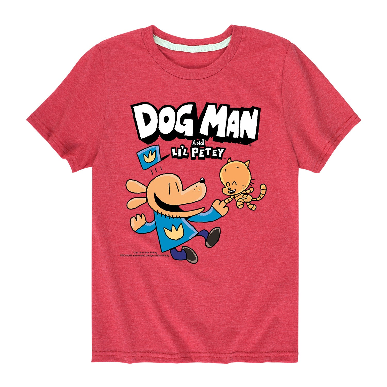 Dog Man and Lil Petey - Youth & Toddler Short Sleeve T-Shirt