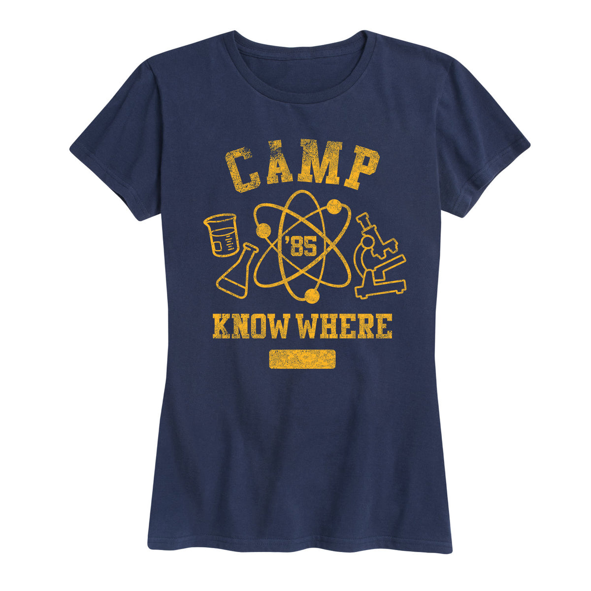 Camp Know Where - Women's Short Sleeve T-Shirt