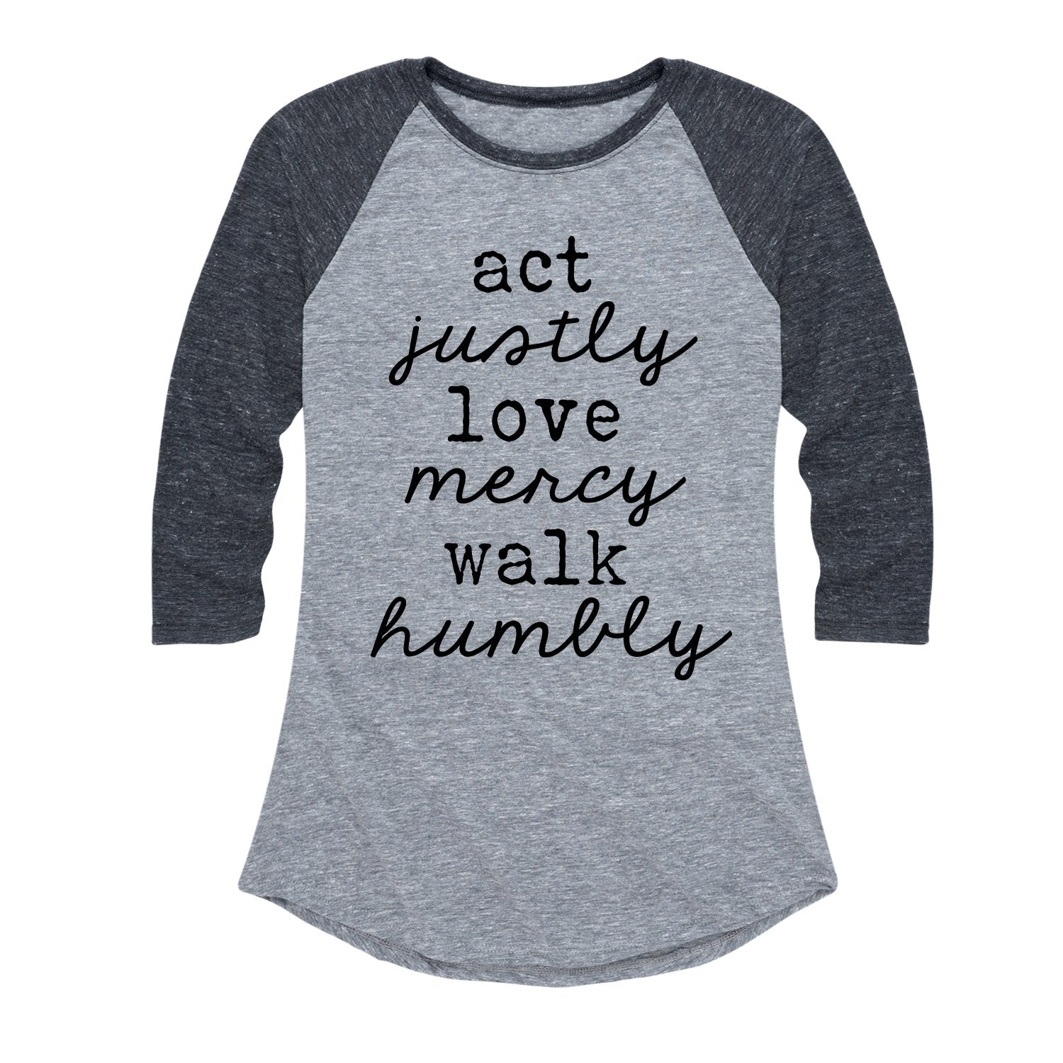 Self Care Women's Raglan Tee Tshirt