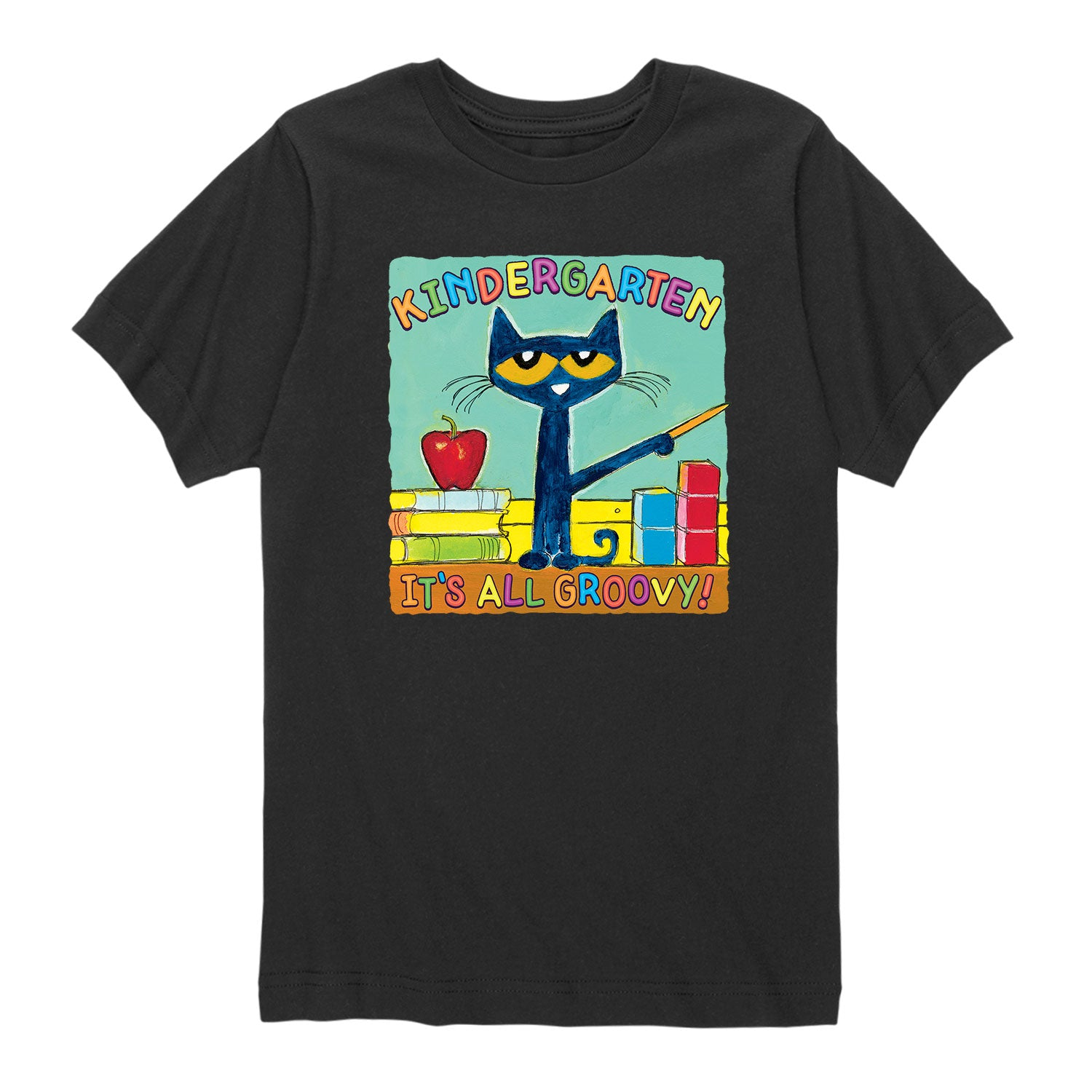 Kindergarten It's All Groovy - Youth & Toddler Short Sleeve T-Shirt