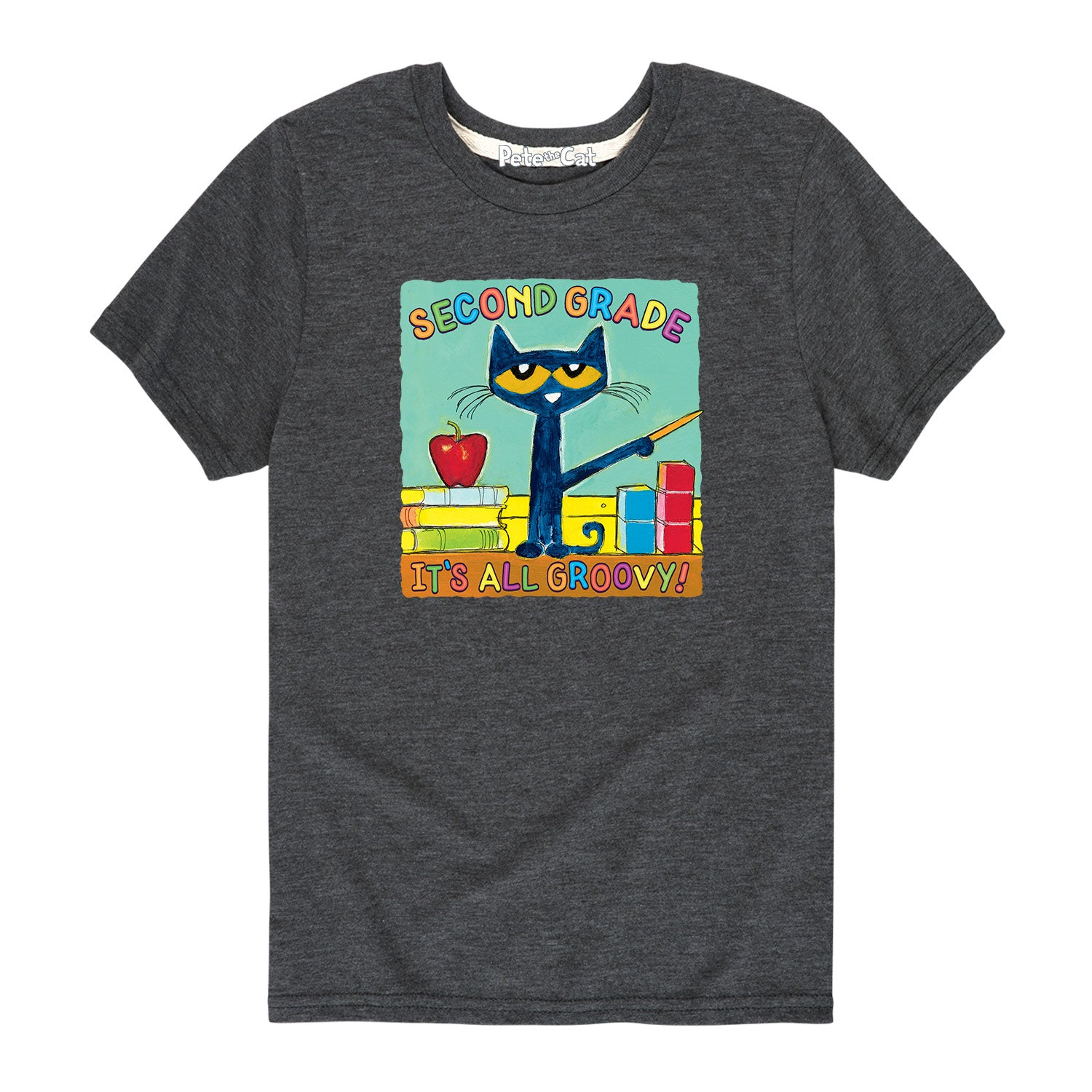Second Grade It's All Groovy - Youth & Toddler Short Sleeve T-Shirt