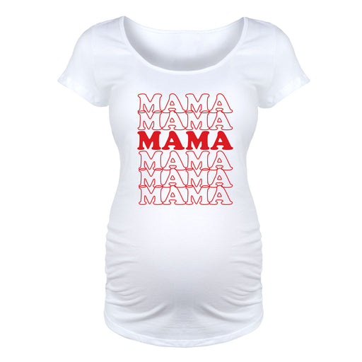 Mama - Maternity Short Sleeve T-Shirt