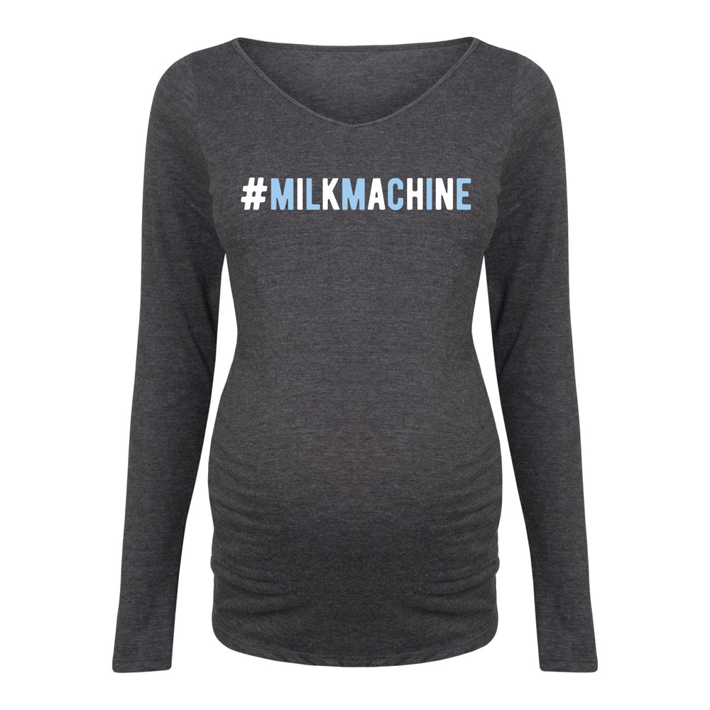 Milk Machine - Maternity Long Sleeve T-Shirt