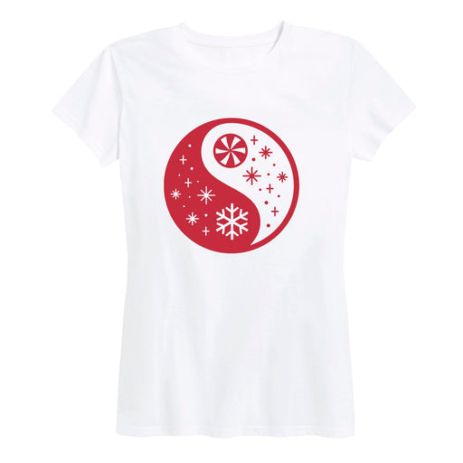 Holiday Yin Yang - Women's Short Sleeve T-Shirt