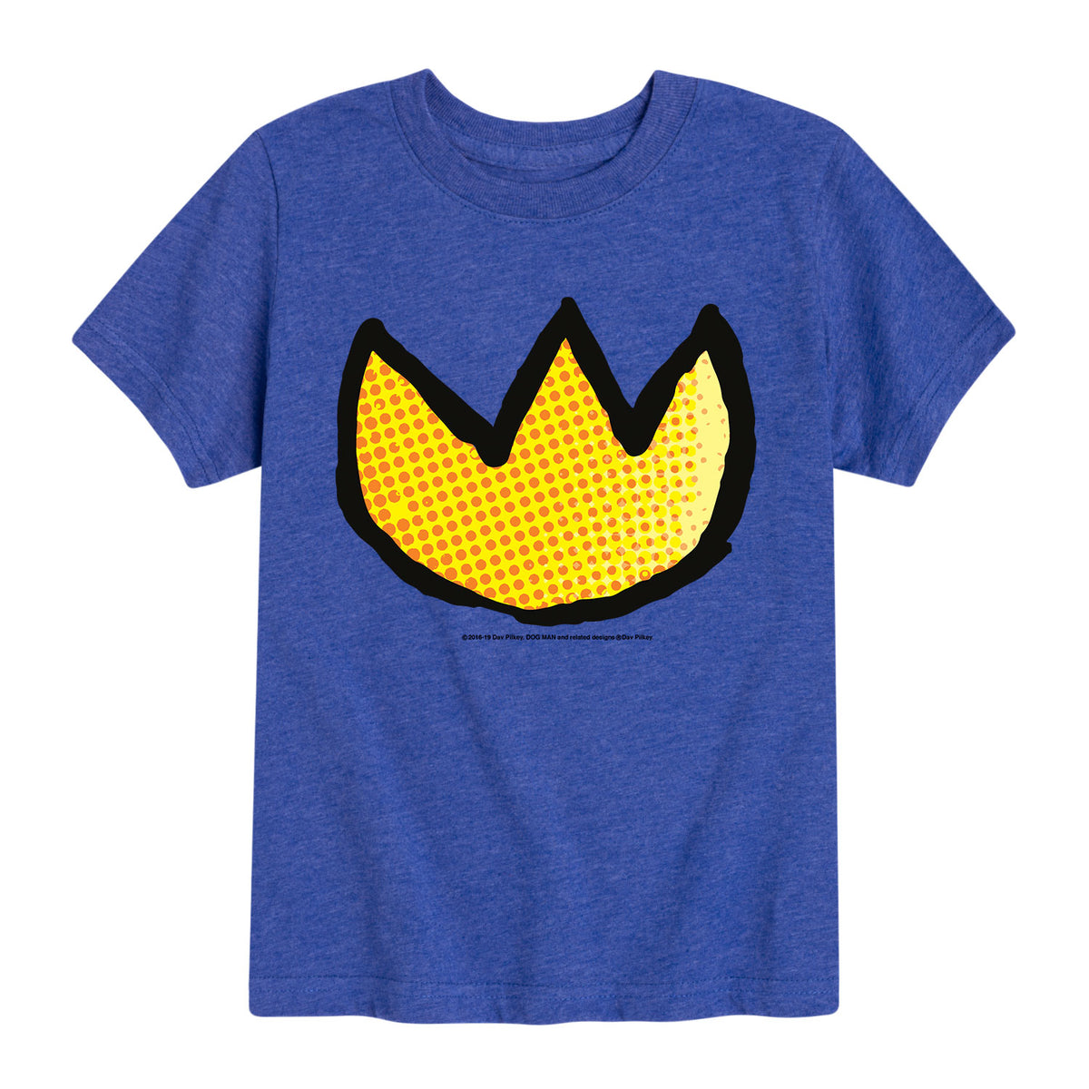 Dogman_Medallion_Dot Texture - Youth & Toddler Short Sleeve T-Shirt