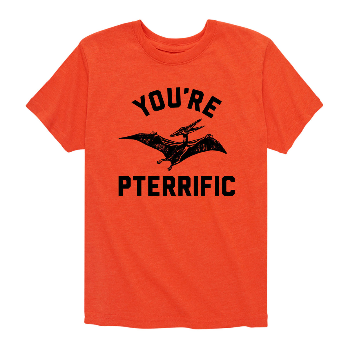 You're Pterrific - Youth & Toddler Short Sleeve T-Shirt