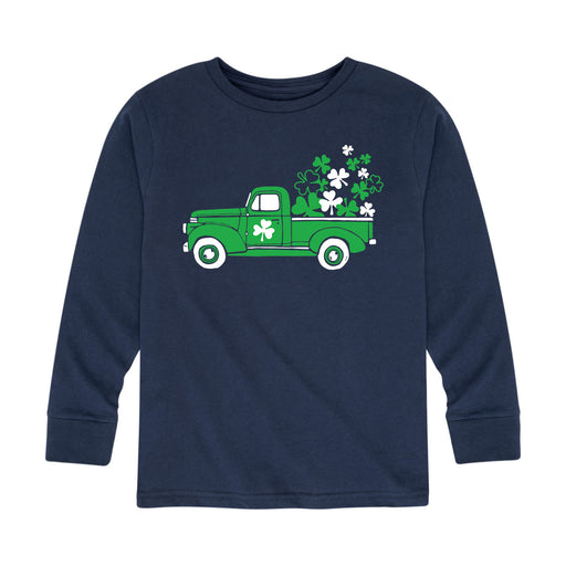 Vintage Shamrock Truck - Toddler Long Sleeve T-Shirt