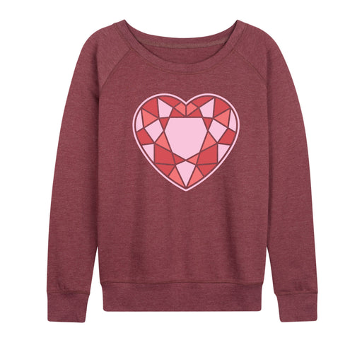 Stained Glass Heart - Women's Slouchy