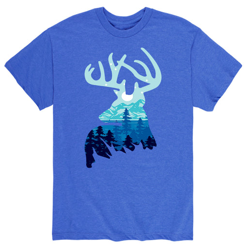Deer Wilderness - Men's Short Sleeve T-Shirt