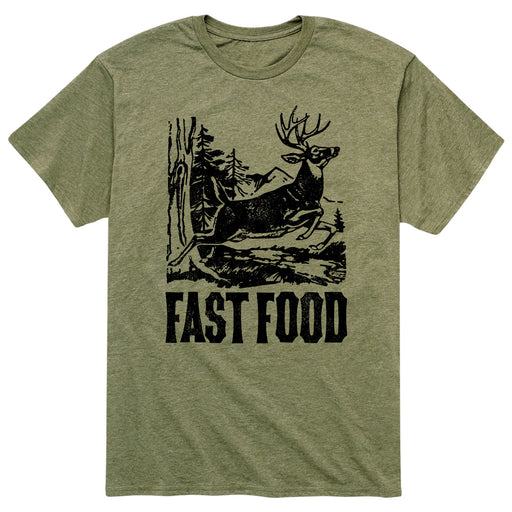 Fast Food - Men's Short Sleeve T-Shirt