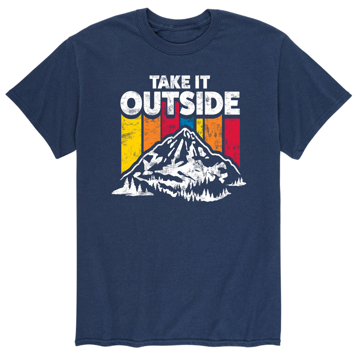 Take It Outside - Men 's Short Sleeve T-Shirt