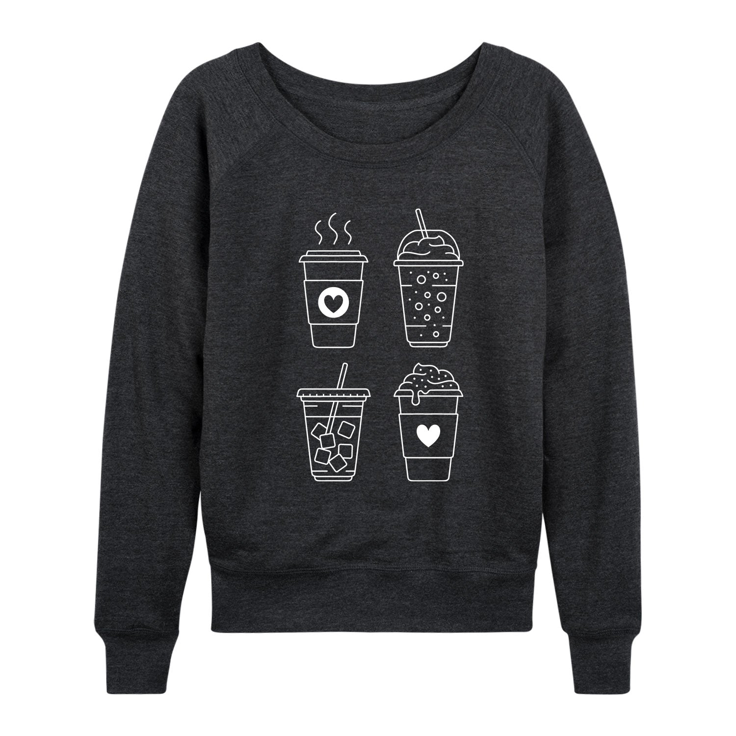 Types Of Coffee - Women's Slouchy