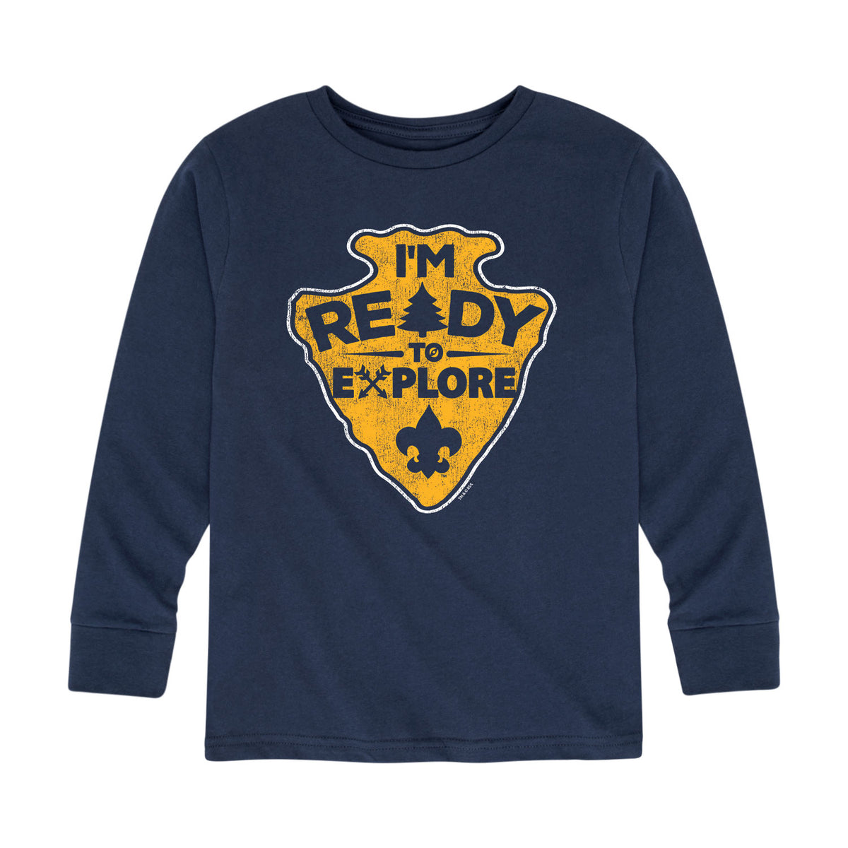 Scouts BSA - I'm Ready To Explore - Youth Long Sleeve T-Shirt