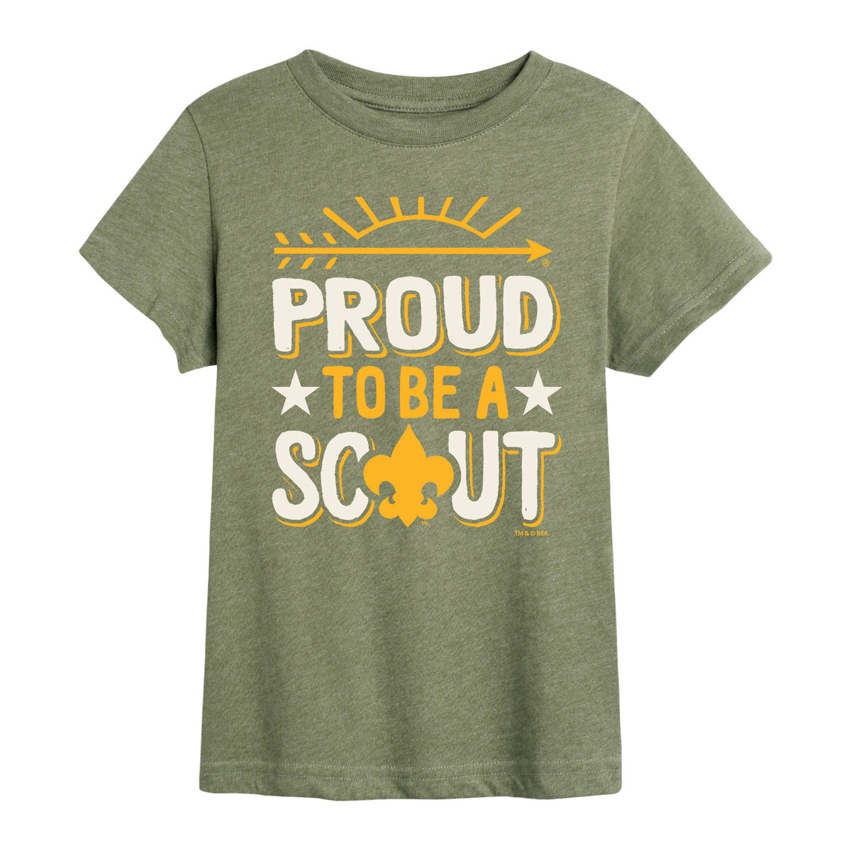 Scouts BSA - Proud To Be A Scout - Youth Short Sleeve T-Shirt