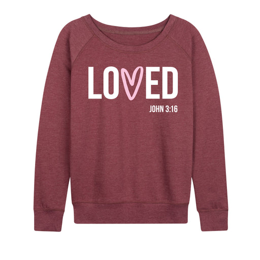 Loved John 316 - Women's Slouchy