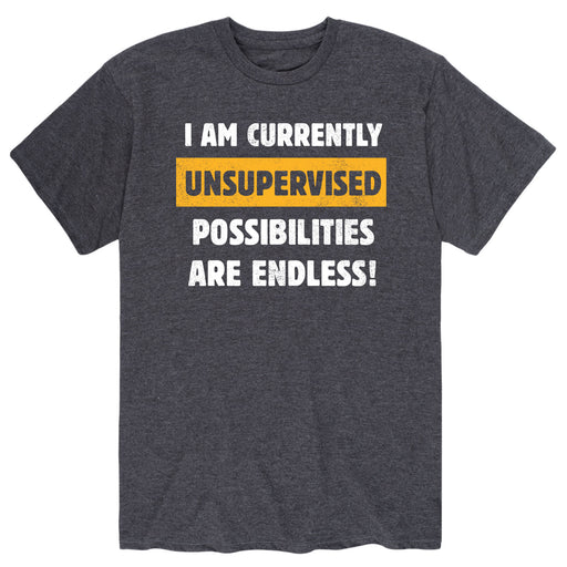 Currently Unsupervised-Men's Short Sleeve T-Shirt