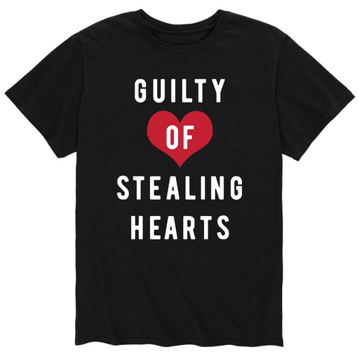 Guilty of Stealing Hearts - Men's Short Sleeve T-Shirt