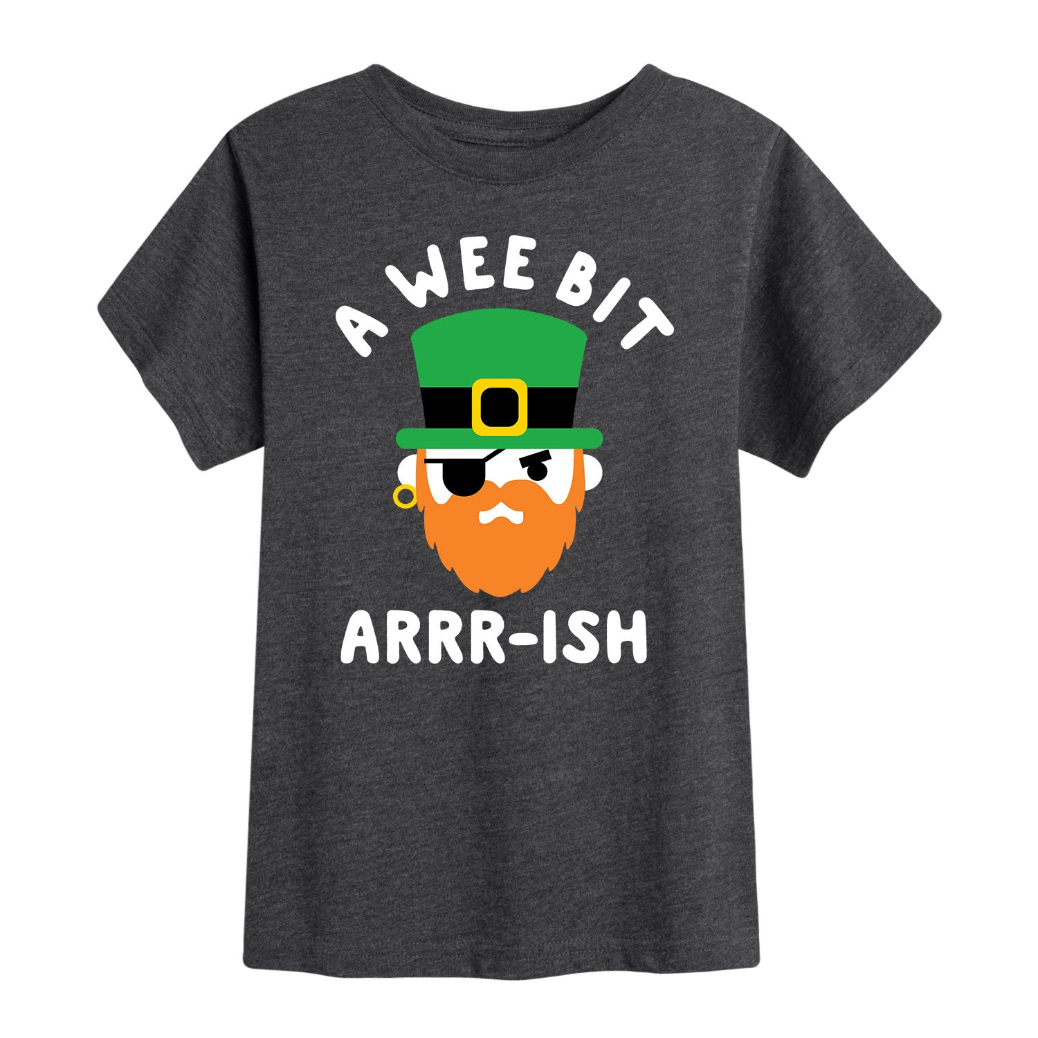 A Wee Bit Arrrish - Toddler Short Sleeve T-Shirt