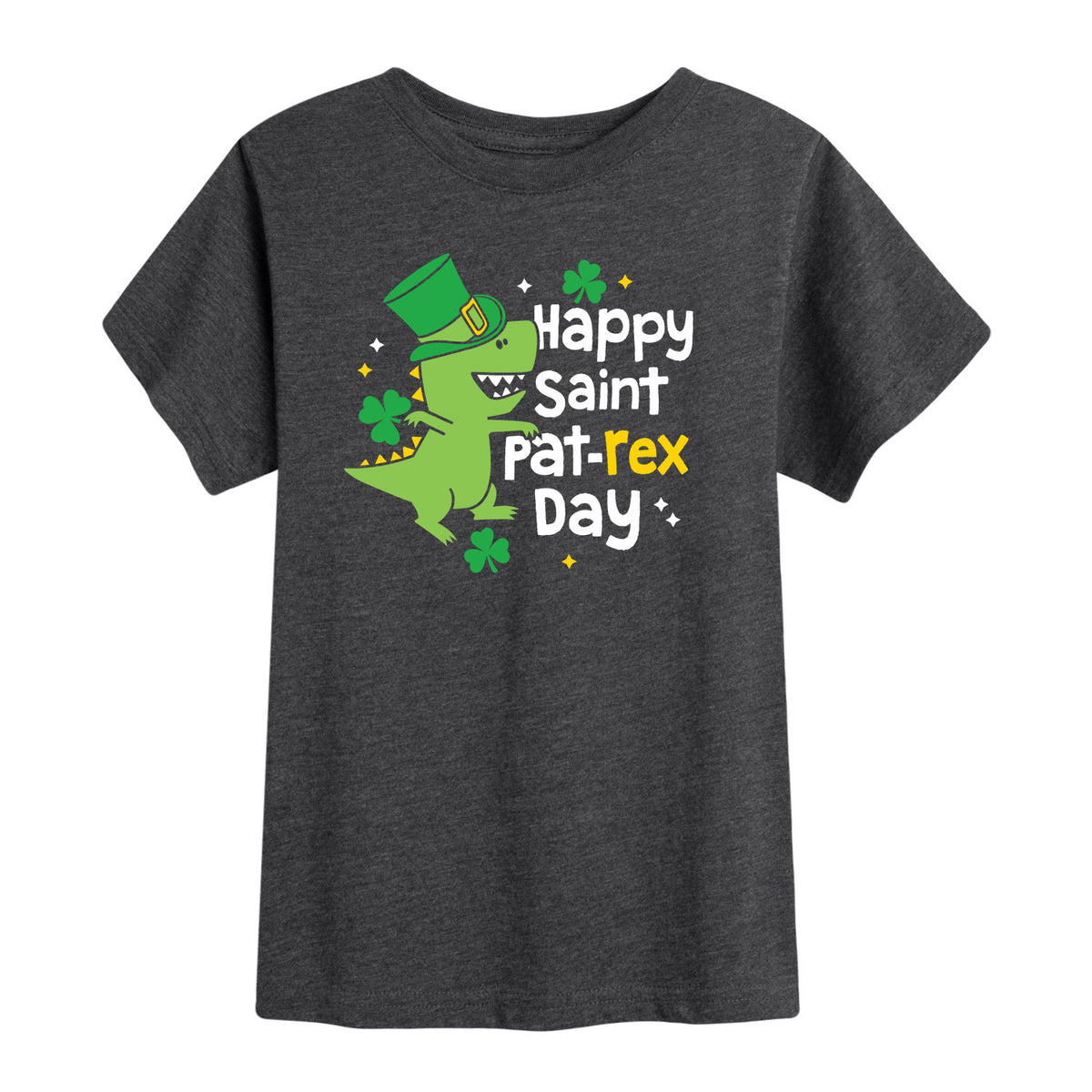 Happy St. Pat Rex Day - Toddler Short Sleeve T-Shirt