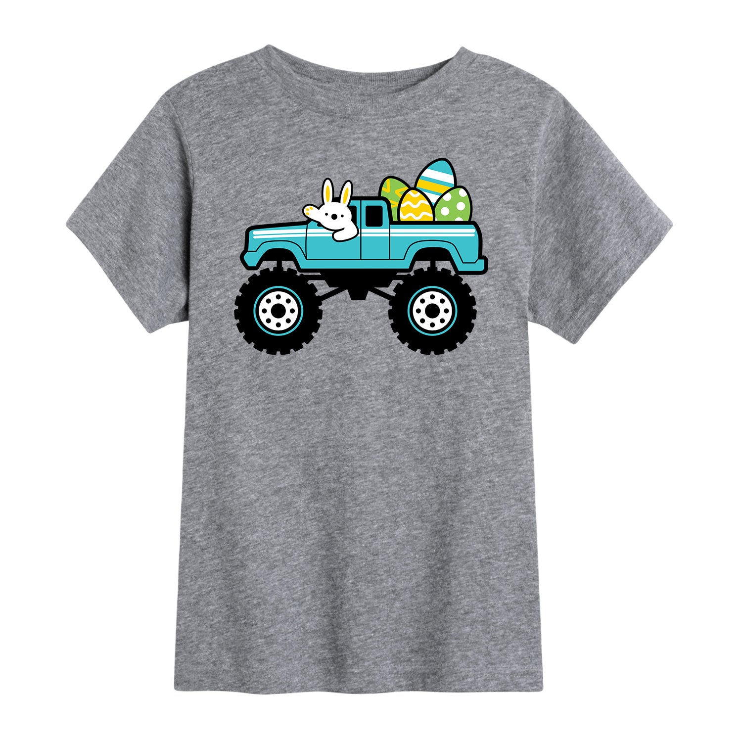 Truck with Easter Eggs - Toddler Short Sleeve T-Shirt